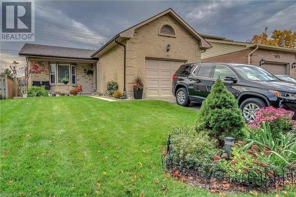 House for sale at 1667 Attawandaron Rd London Ontario - MLS: 228296