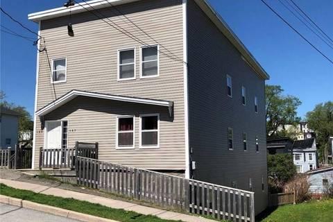Townhouse for sale at 169 Charlotte West St Unit 167 Saint John New Brunswick - MLS: NB026354