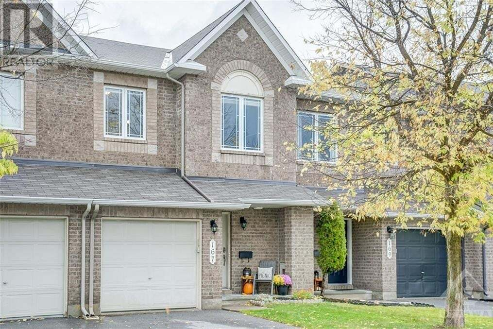 Townhouse for sale at 167 Harbour View St Ottawa Ontario - MLS: 1214157
