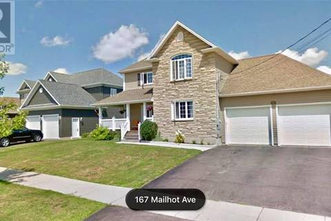 House for sale at 167 Mailhot Ave Moncton New Brunswick - MLS: M122252