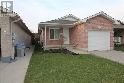 House for sale at 167 Maitland St Strathroy Ontario - MLS: 188376