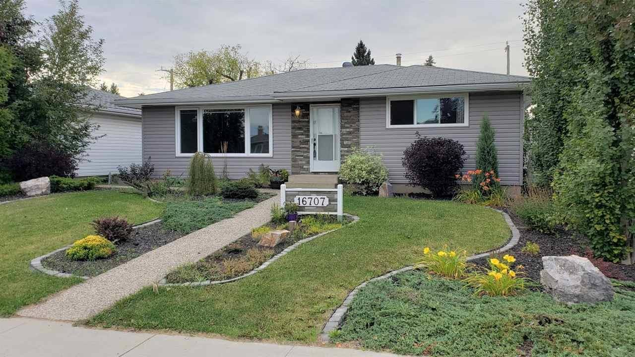 House for sale at 16707 94 Ave Nw Edmonton Alberta - MLS: E4179508