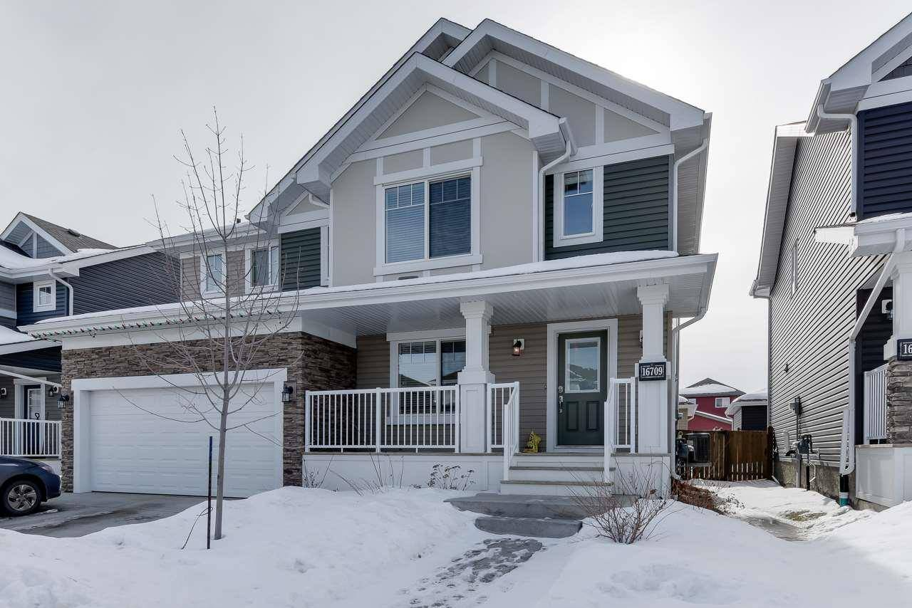 Townhouse for sale at 16709 14 Ave Sw Edmonton Alberta - MLS: E4190357