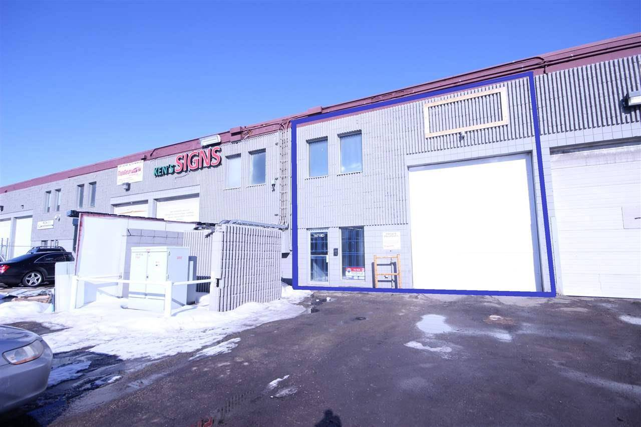 Commercial property for sale at 16718 111 Ave Nw Edmonton Alberta - MLS: E4189594