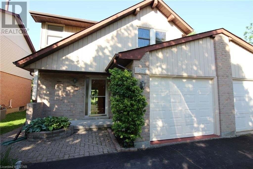 Property for rent at 1678 Attawandaron Rd London Ontario - MLS: 262360