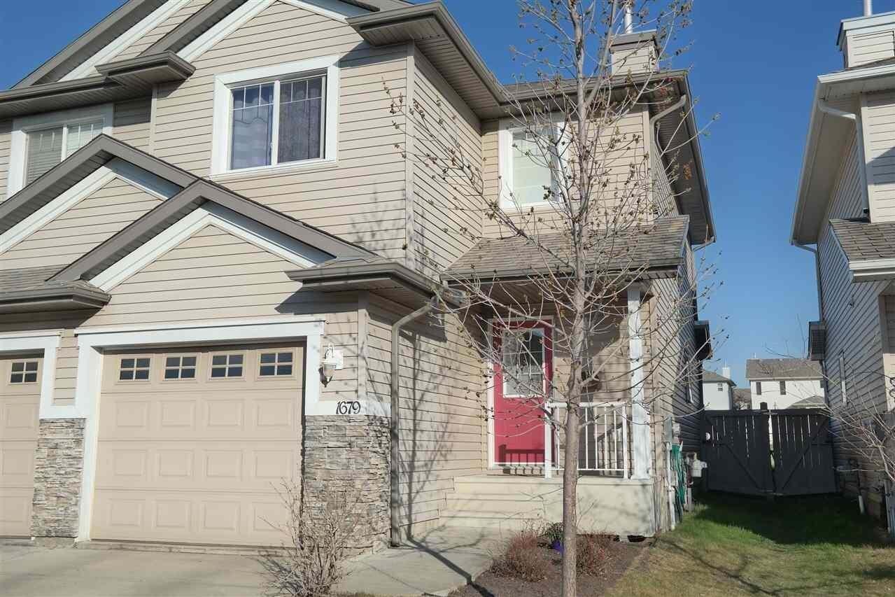Townhouse for sale at 1679 Melrose Pl SW Edmonton Alberta - MLS: E4197335