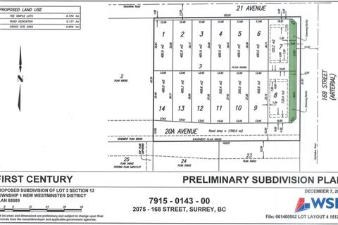 Residential property for sale at 16791 20a Ave Surrey British Columbia - MLS: R2393383