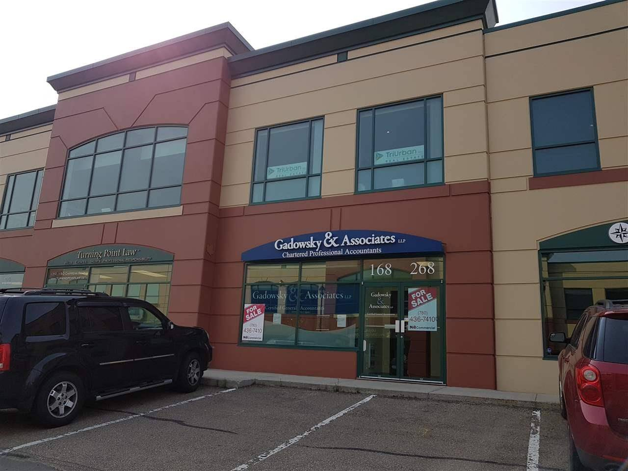 Commercial property for sale at 150 Chippewa Rd Unit 168 Sherwood Park Alberta - MLS: E4127205