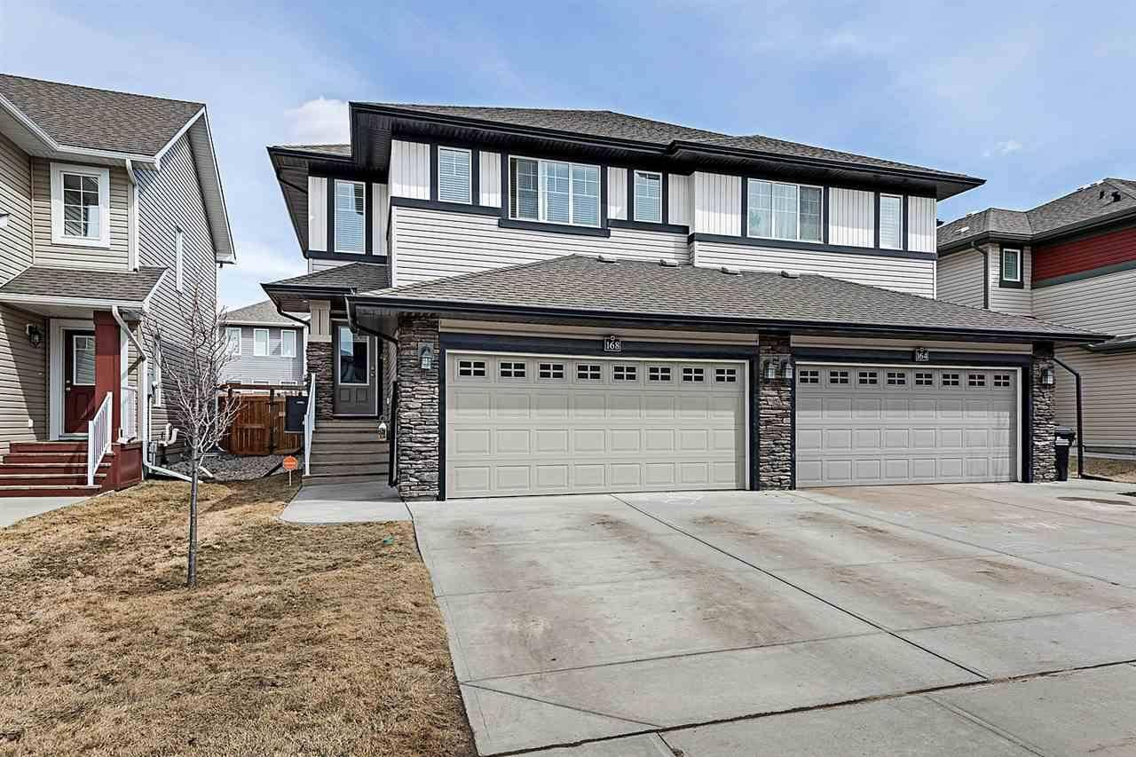 Townhouse for sale at 168 Summerstone Ln Sherwood Park Alberta - MLS: E4194731
