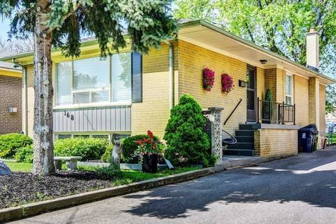 House for sale at 168 Wellesworth Dr Toronto Ontario - MLS: W4484439