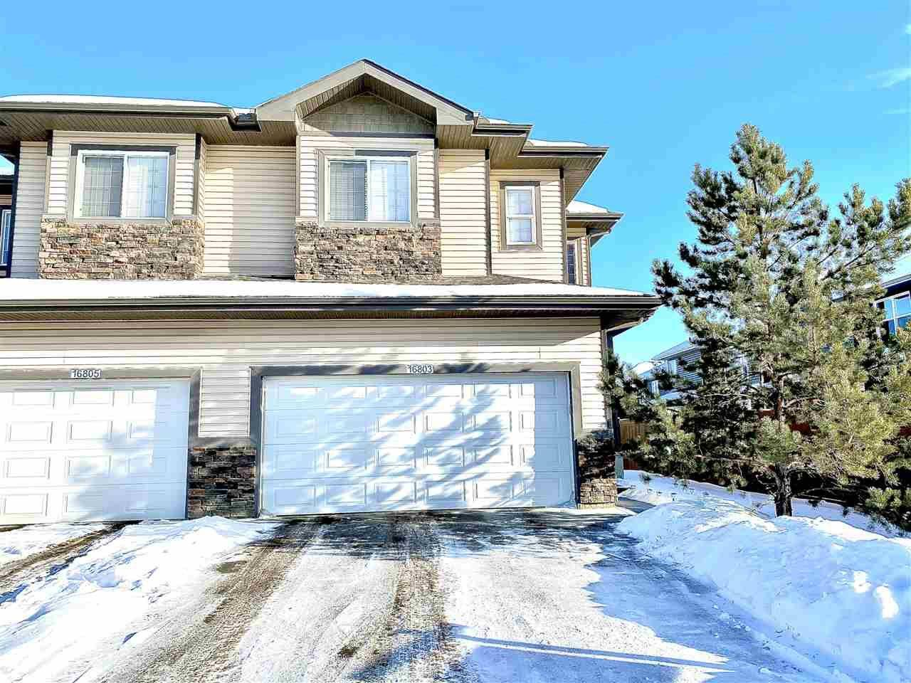 Townhouse for sale at 16803 55 St Nw Edmonton Alberta - MLS: E4178904