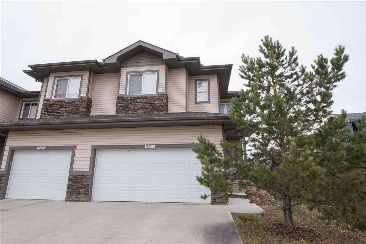 Townhouse for sale at 16803 55 St Nw Edmonton Alberta - MLS: E4192399