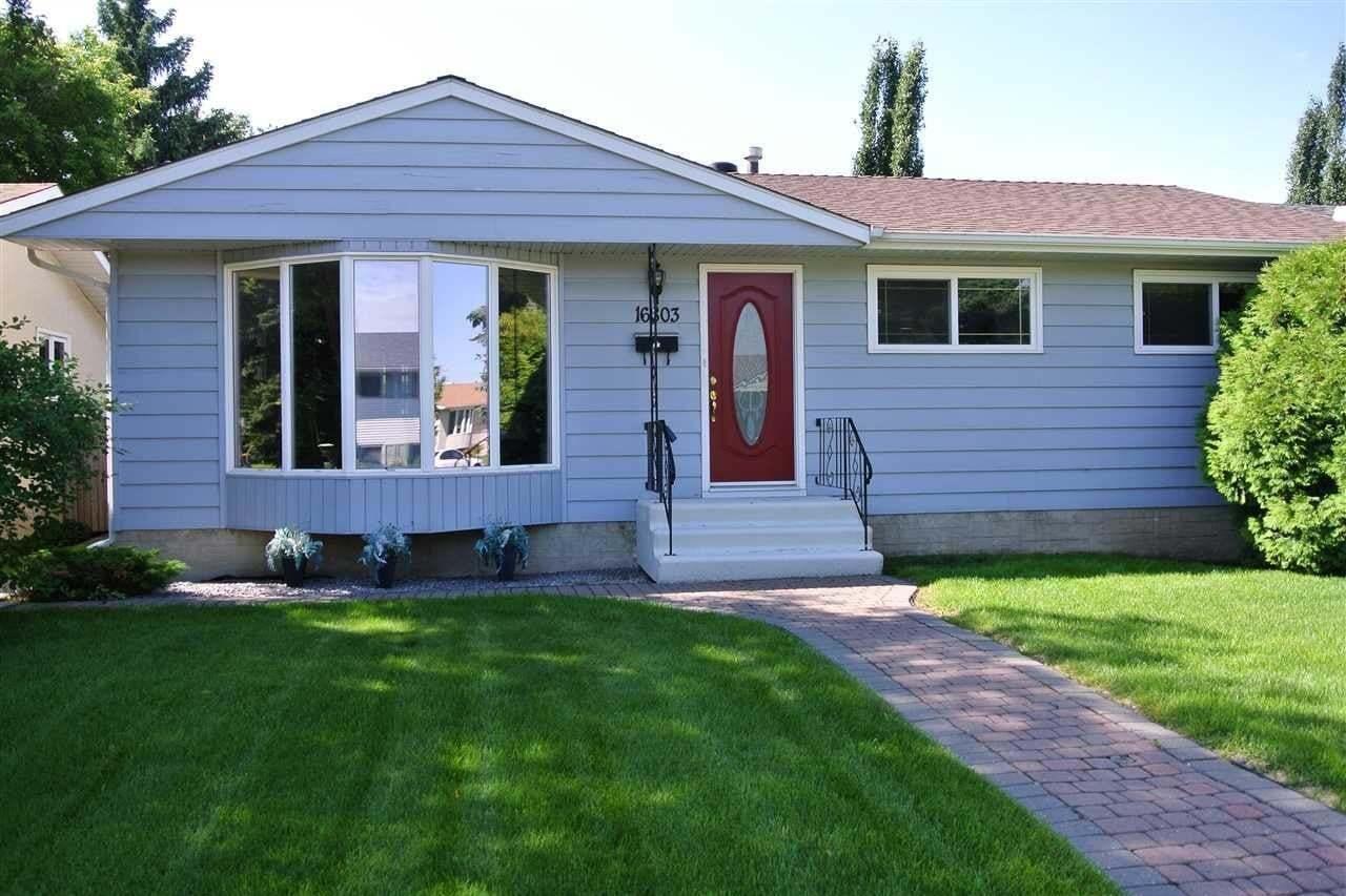 House for sale at 16803 98 Av NW Edmonton Alberta - MLS: E4204647