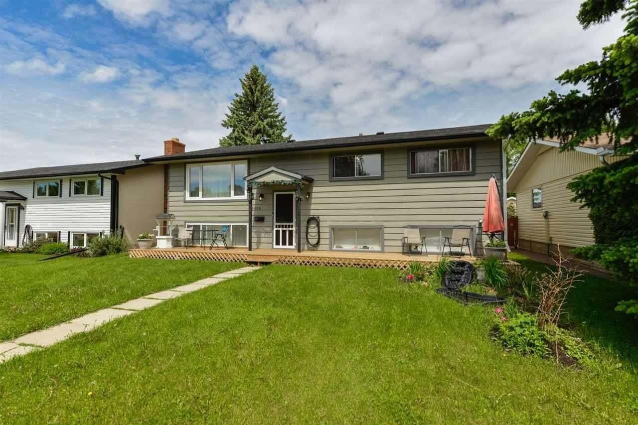 House for sale at 16808 98 Av NW Edmonton Alberta - MLS: E4202089