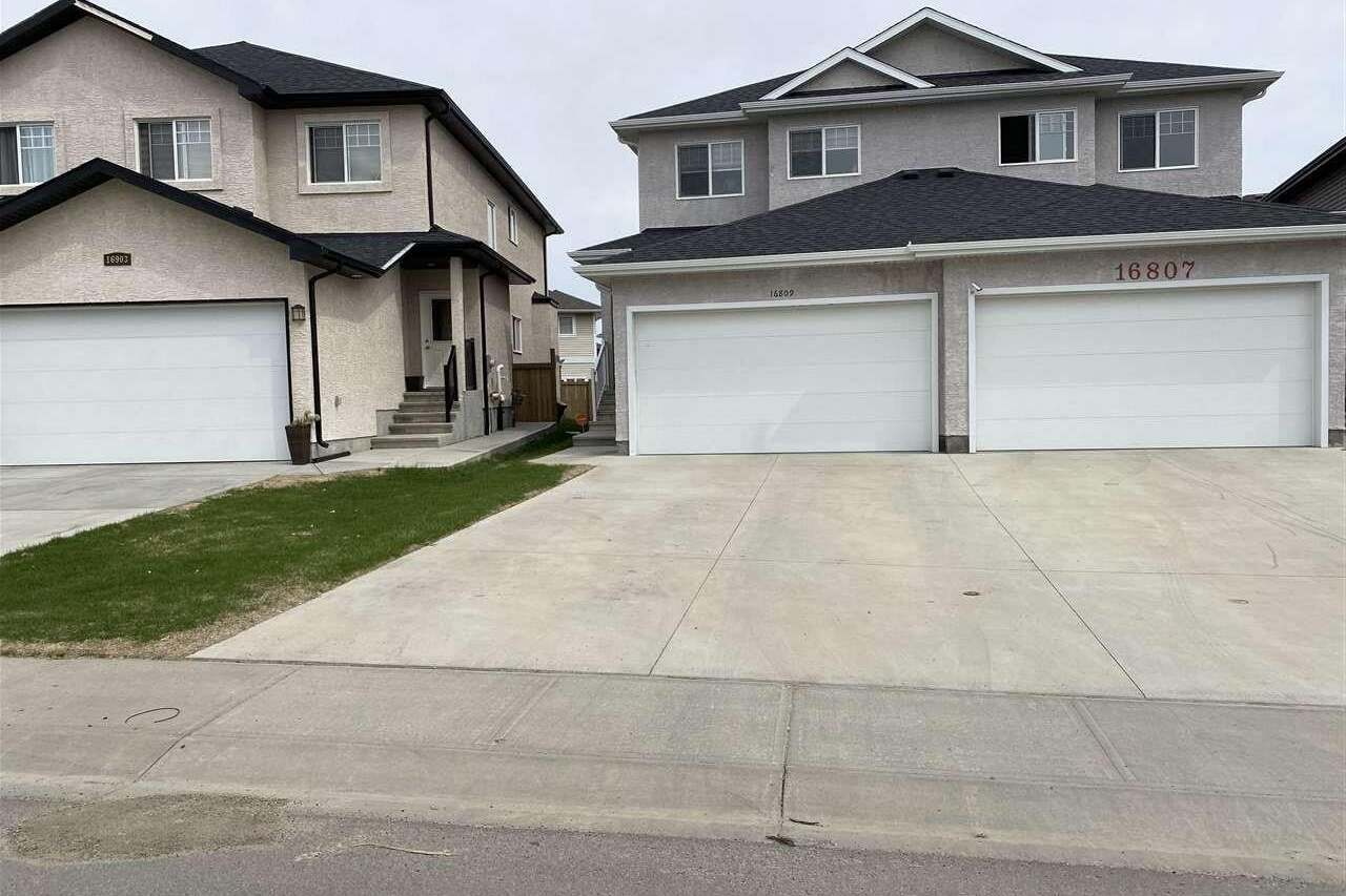 Townhouse for sale at 16809 60 St NW Edmonton Alberta - MLS: E4199218