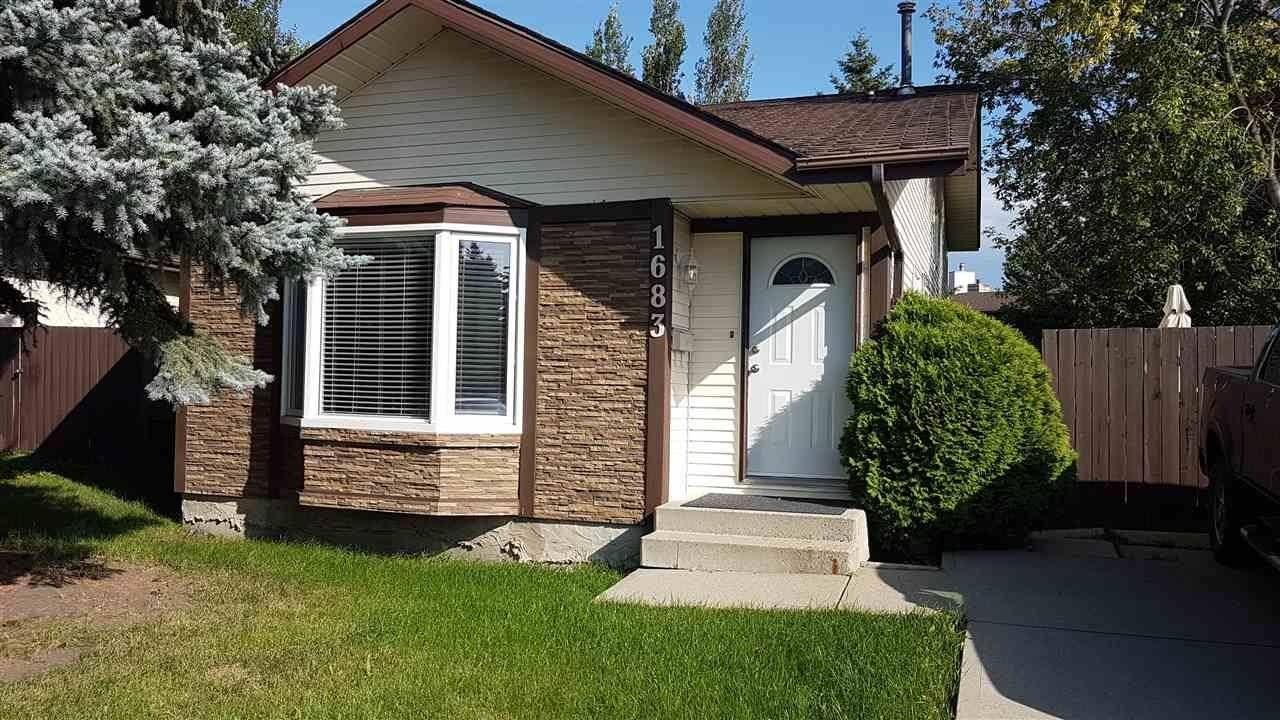 House for sale at 1683 42 St Nw Edmonton Alberta - MLS: E4173509