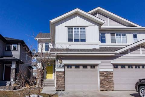 Townhouse for sale at 1686 Cunningham Wy Sw Edmonton Alberta - MLS: E4148354