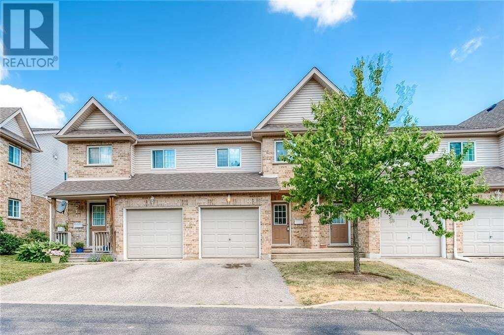 Townhouse for sale at 169 Bismark Dr Cambridge Ontario - MLS: 30819602