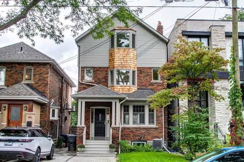 House for sale at 169 Deloraine Ave Toronto Ontario - MLS: C4580995