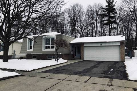 House for sale at 169 Erindale Cres Cambridge Ontario - MLS: X4678710