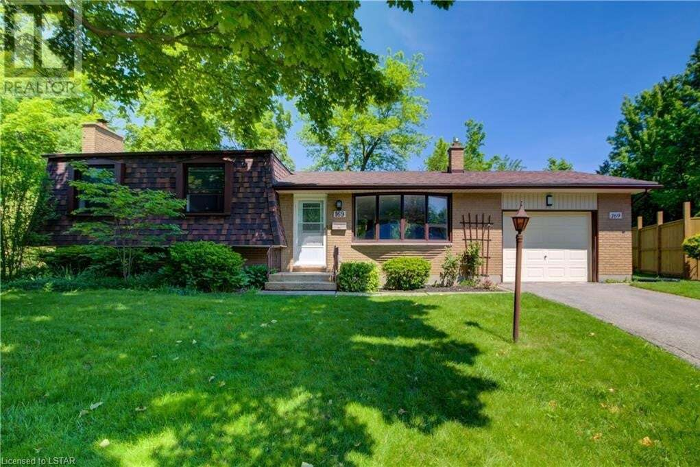 House for sale at 169 Estella Ct London Ontario - MLS: 263442