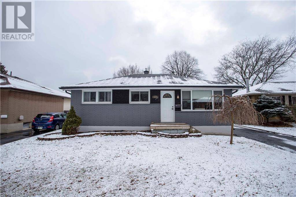 House for sale at 169 Manitoulin Dr London Ontario - MLS: 235511