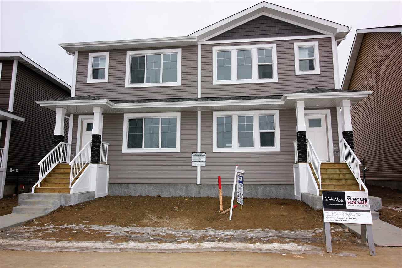 For Sale: 169 Robinson Drive, Leduc, AB | 3 Bed, 3 Bath Townhouse for $317,320. See 7 photos!