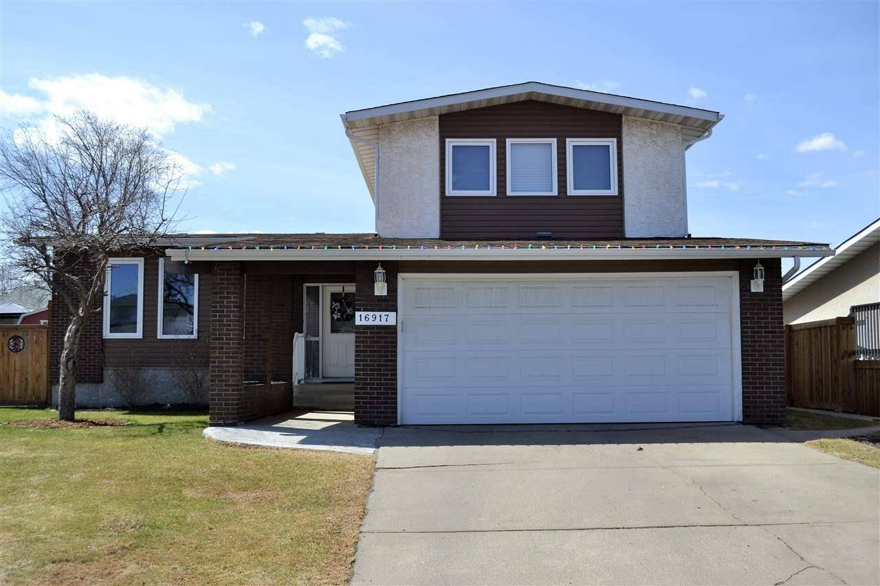House for sale at 16917 108 St Nw Edmonton Alberta - MLS: E4191426
