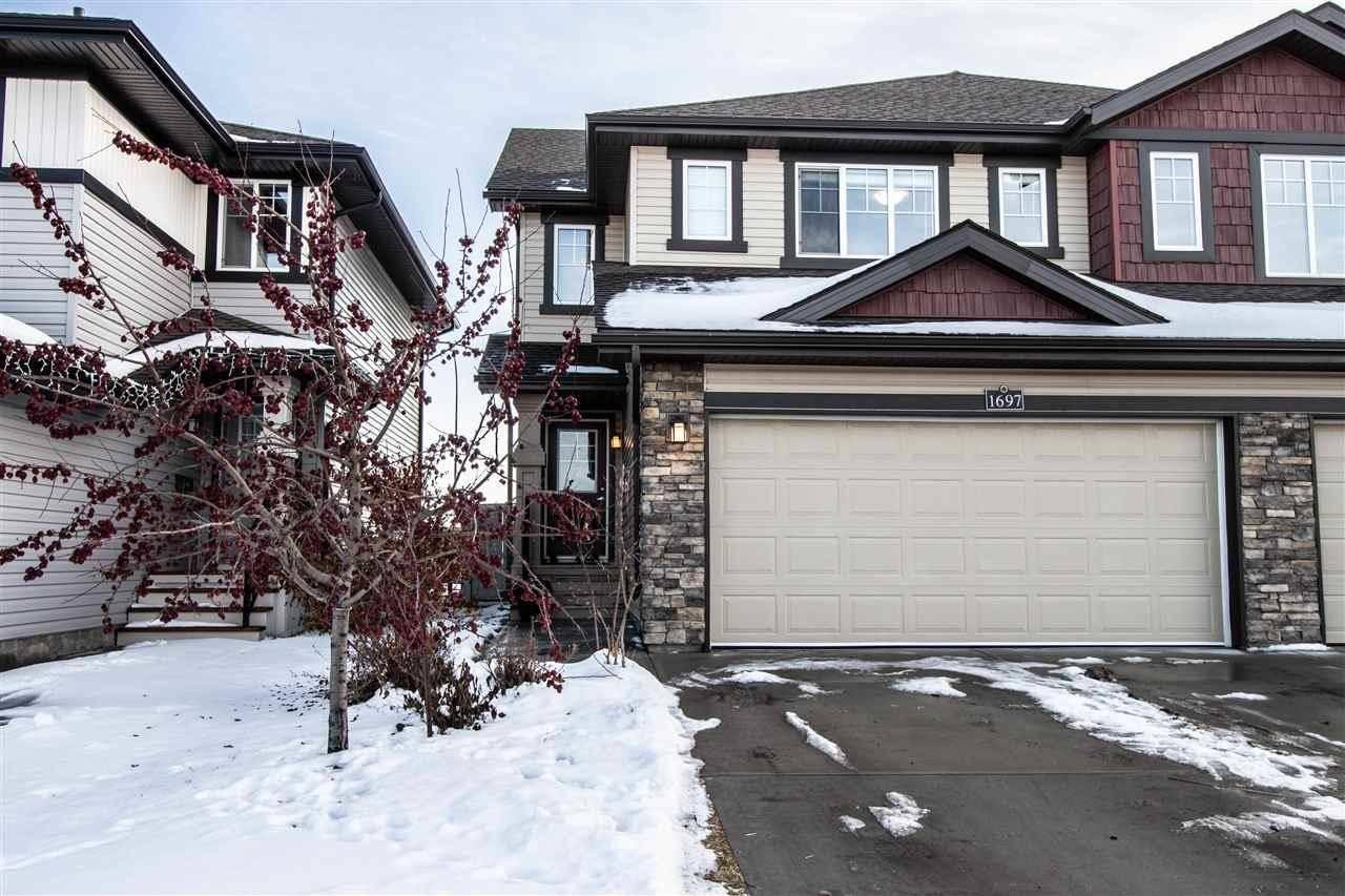 Townhouse for sale at 1697 Hammond Cres Nw Edmonton Alberta - MLS: E4180016
