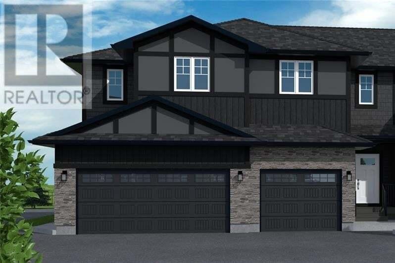 Townhouse for sale at 1003 Evergreen Blvd Unit 17 Saskatoon Saskatchewan - MLS: SK830276