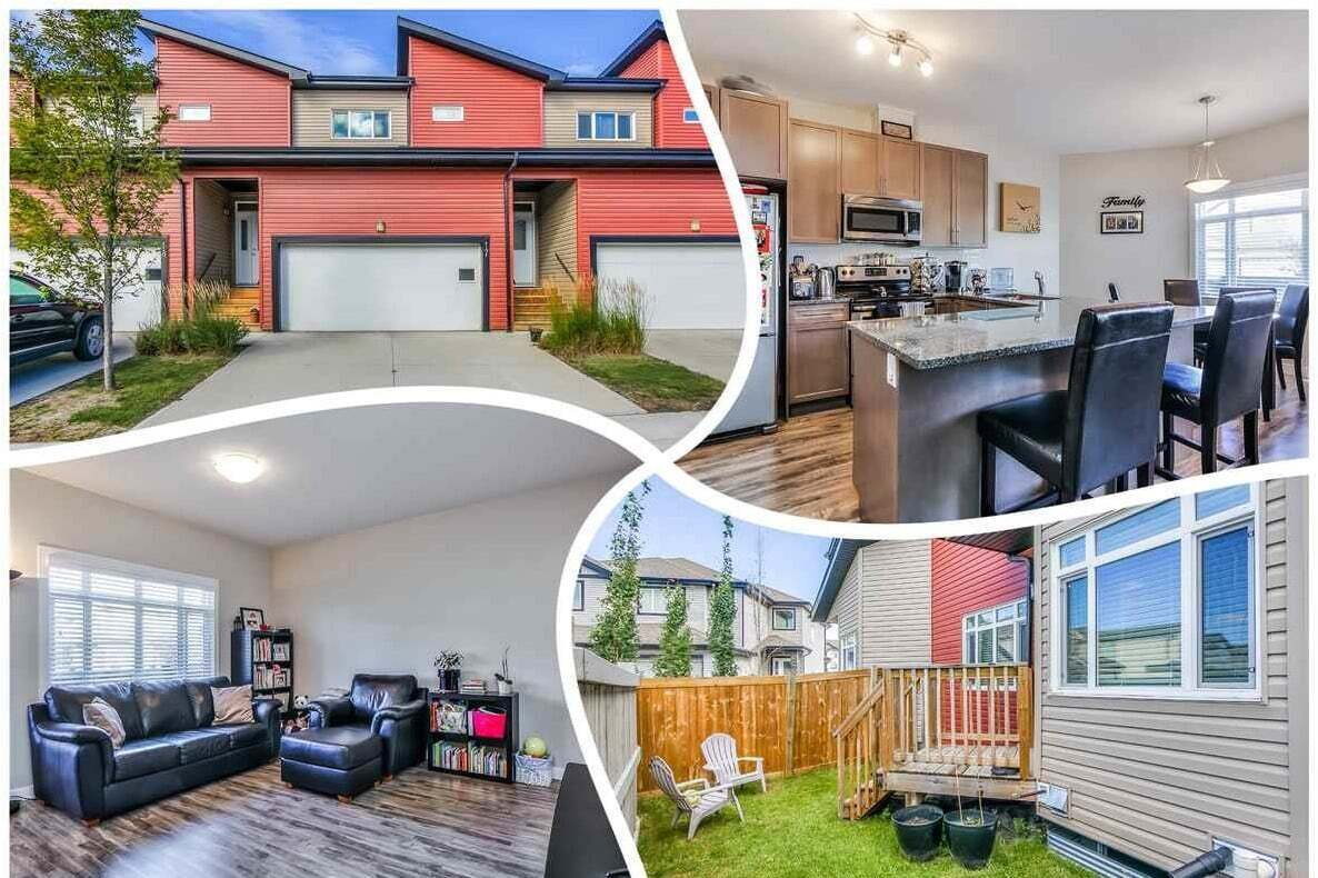 Townhouse for sale at 16537 130a St NW Unit 17 Edmonton Alberta - MLS: E4213593