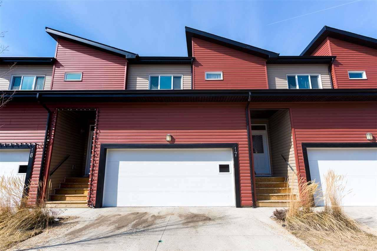Townhouse for sale at 16537 130a St Nw Unit 17 Edmonton Alberta - MLS: E4187289