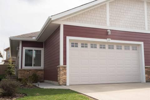 Townhouse for sale at 175 Mcconachie Dr Nw Unit 17 Edmonton Alberta - MLS: E4157318
