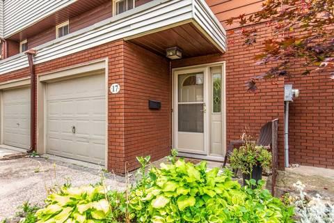 Condo for sale at 23 Watsons Ln Unit 17 Hamilton Ontario - MLS: X4511570
