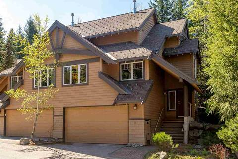 Townhouse for sale at 2641 Whistler Rd Unit 17 Whistler British Columbia - MLS: R2365598