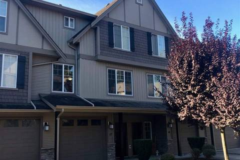 Townhouse for sale at 46321 Cessna Dr Unit 17 Chilliwack British Columbia - MLS: R2397667