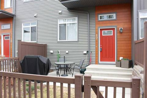 Townhouse for sale at 7503 Getty Gt Nw Unit 17 Edmonton Alberta - MLS: E4145765