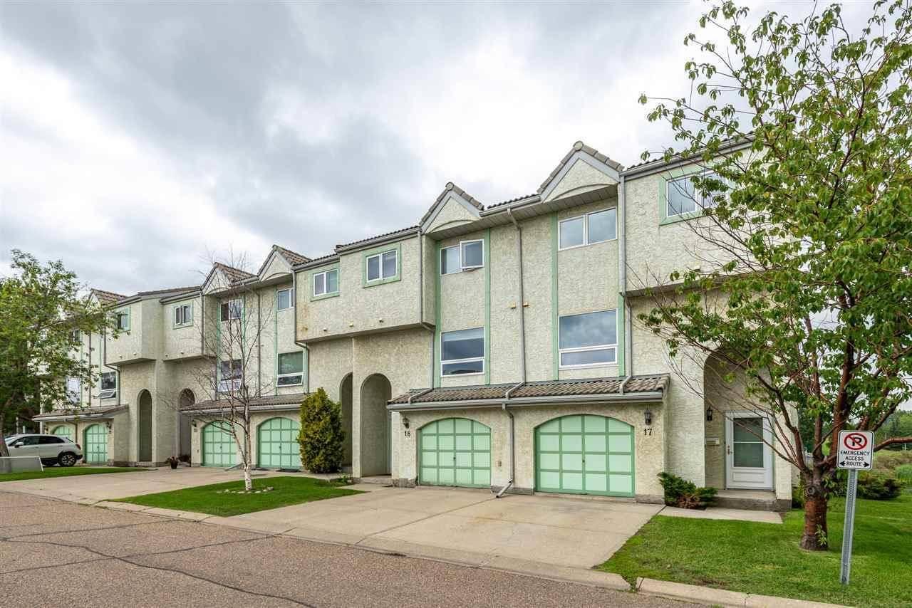 Townhouse for sale at 9505 176 St Nw Unit 17 Edmonton Alberta - MLS: E4183164