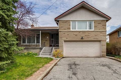House for sale at 17 Artreeva Dr Toronto Ontario - MLS: C4443507