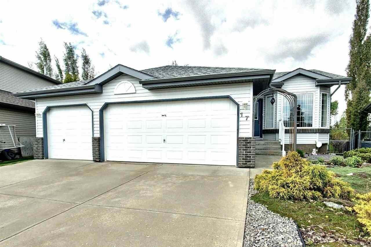 House for sale at 17 Belfry Fairway Cr Stony Plain Alberta - MLS: E4197543