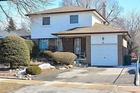 House for sale at 17 Braddock Rd Toronto Ontario - MLS: W4388087