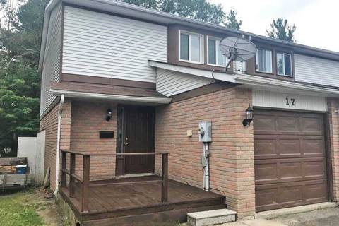 Townhouse for sale at 17 Burns Circ Barrie Ontario - MLS: S4527349