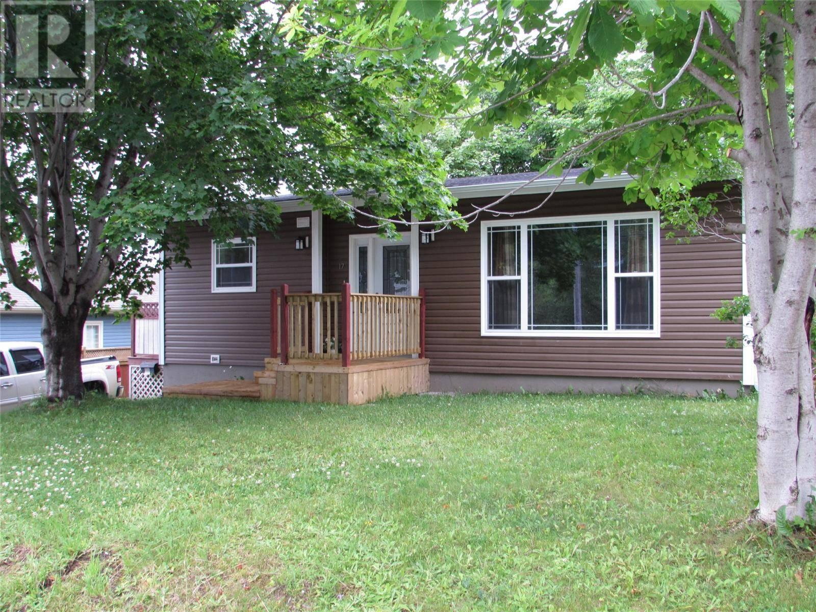 House for sale at 17 Charles St Corner Brook Newfoundland - MLS: 1200622