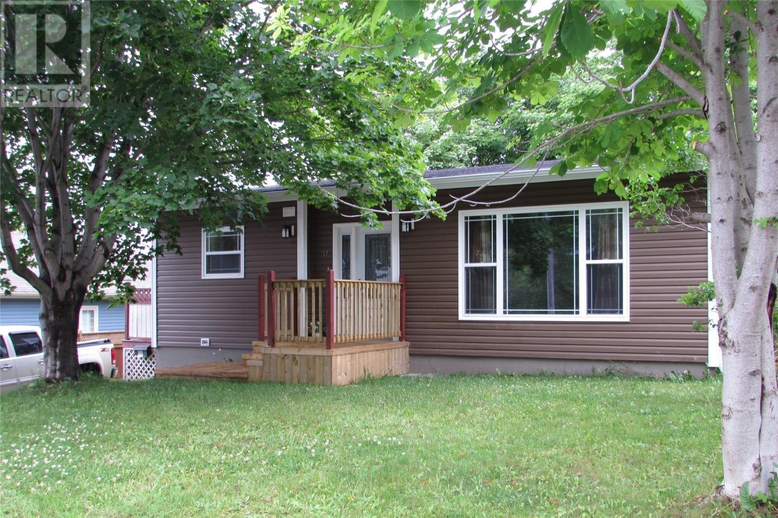 House for sale at 17 Charles St Corner Brook Newfoundland - MLS: 1213112