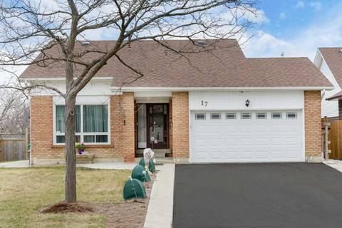House for sale at 17 Claypine Tr Brampton Ontario - MLS: W4421952
