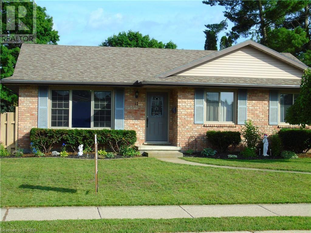 House for sale at 17 Clear Valley Rd Tillsonburg Ontario - MLS: 215514