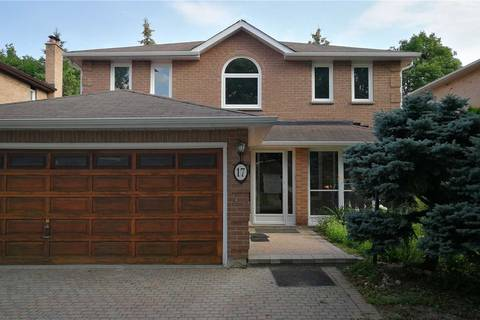 House for sale at 17 Crandall Dr Markham Ontario - MLS: N4530894