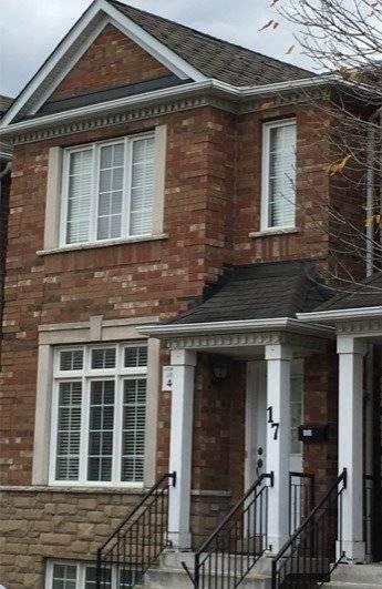 Townhouse for rent at 17 Estoril Terr Toronto Ontario - MLS: W4641851