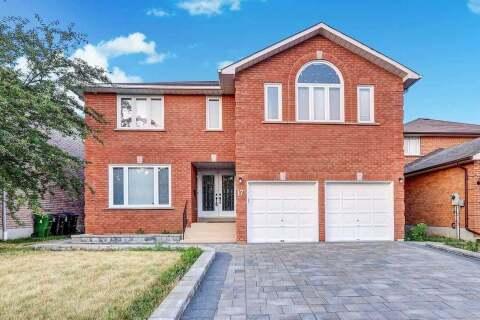 House for sale at 17 Fawnridge Tr Toronto Ontario - MLS: E4819839