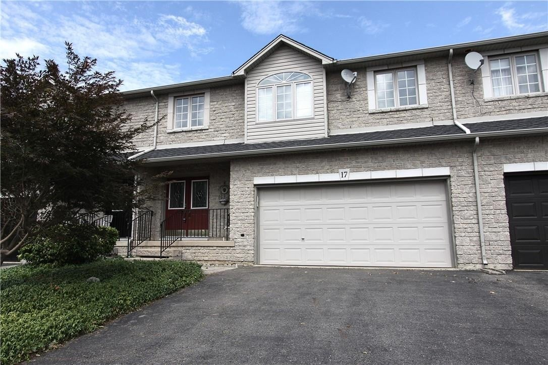 Townhouse for sale at 17 Foxborough Dr Hamilton Ontario - MLS: H4083828